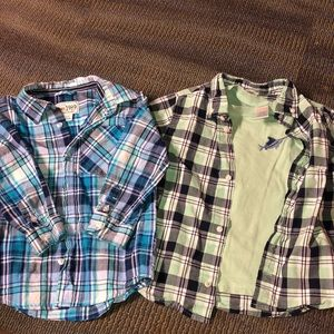 Other - Three piece flannel button downs size 3T